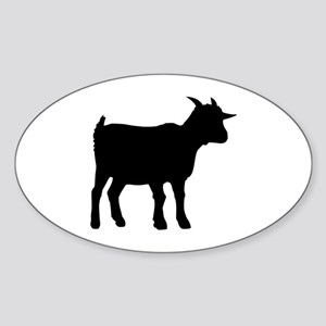 Goat Sticker (Oval)